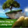 XIN THÊM NIỀM TIN CHO CHÚNG CON